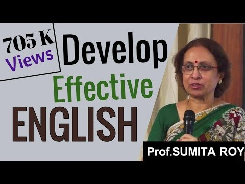 Develop Effective English by Prof Sumita Roy at IMPACT 2014