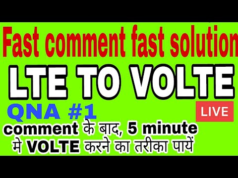 LTE TO VOLTE FOR YOUR PHONE // HOW TO CONVERT LTE TO VOLTE