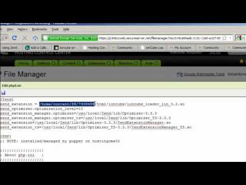 How to Install Ioncube on Godaddy Hosting Account