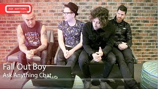 Fall Out Boy Interactive Chat w/ Romeo Saturday Night Online  - AskAnythingChat