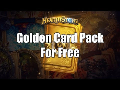 [Hearthstone] How To Get The Golden Card Pack In ANY Country In The World