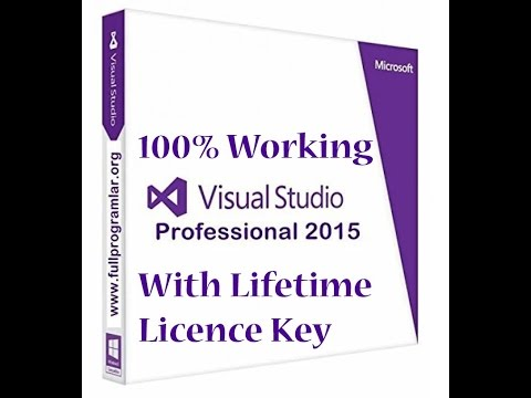 How to install Visual Studio 2015 Professional | Free Lifetime key | [100% WORKING FEB 2016]