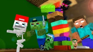 Mob Kids Life 6 - Craftronix Minecraft Animation