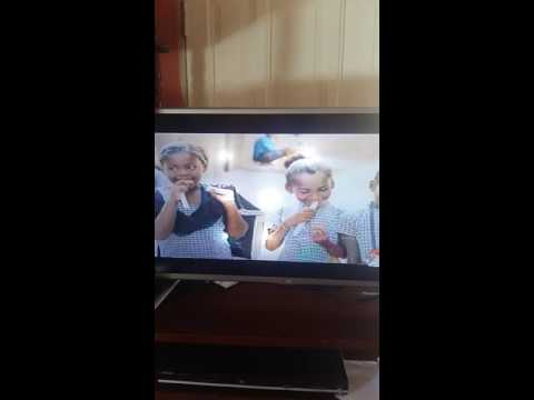 LG smart TV lights problem on screen
