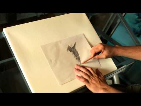 How to transfer your drawing or sketch to canvas with artist Tim Gagnon