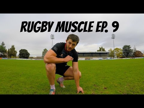 Rugby Muscle: How I train for Rugby   Improving agility and stepping   Episode 9