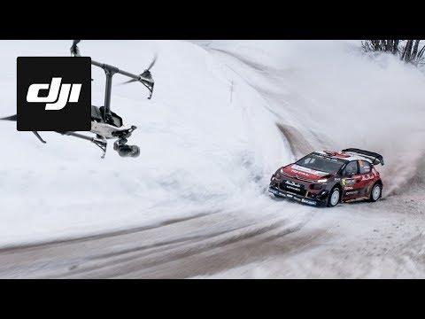 WRC Rally Sweden 2018 | DJI HIGHLIGHTS