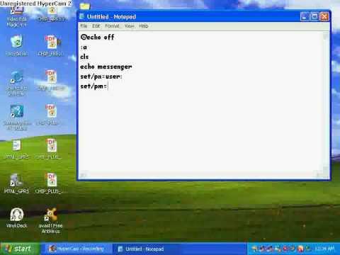 How to make cmd messenger_1.wmv