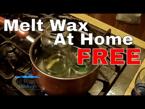 How To Melt Candle Wax for Fire Starters