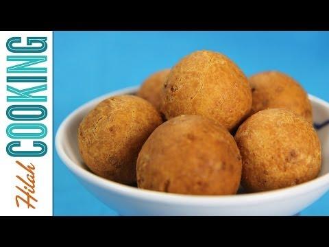 How to Make Buñuelos Navideños | Colombian Buñuelos | Hilah Cooking