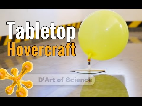 How to make a Hovercraft | With Forward Thrust