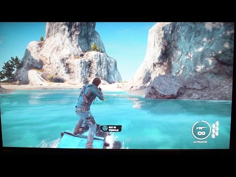 Just Cause 3 Boom Island: Play as you Download Feature for PS4