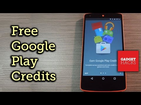 Earn Google Play Credits on Android by Filling Out Surveys [How-To]