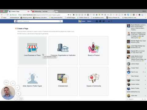How to make a real estate Facebook business page