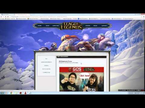 How To get Free LoL Skins Garena Server Only (CLOSED)
