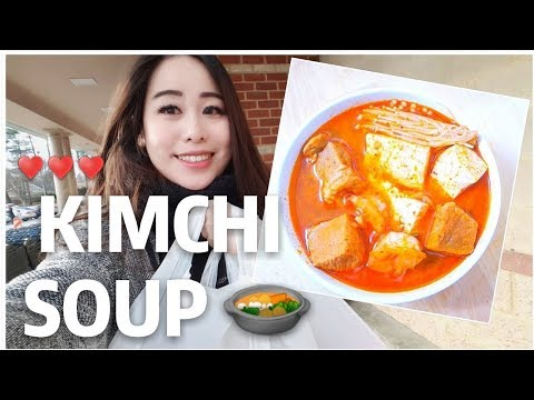 How To Make Kimchi Soup Easy! 🥘🥘♥️♥️♥️