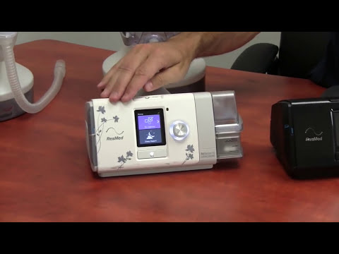 ResMed AirSense 10 AUTO CPAP Machine Features