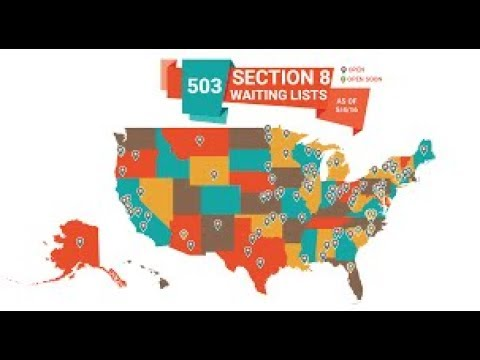 Section 8 Wait List Now Open in Several Locations