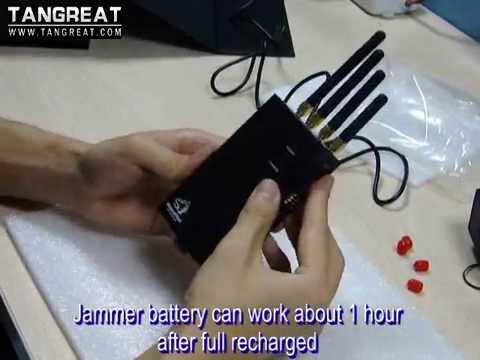 Cell phone Jammer by www.wolvesfleet.com