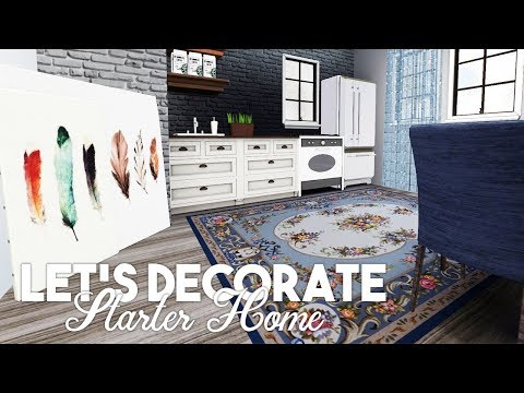 Sims 3 || Let's Decorate: Legacy Challenge STARTER HOME!