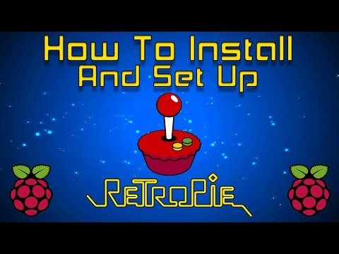 How To Install And Set Up RetroPie 4.3 Or Higher Raspberry pi 1 2 3 Or Zero 2017