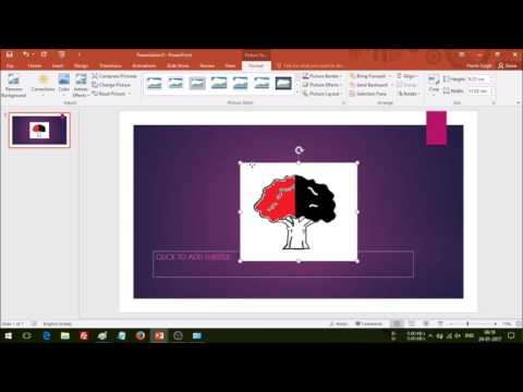 How To Make Any Picture Transparent Using MS Paint & MS PowerPoint