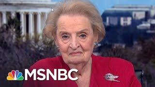 Madeleine Albright: I