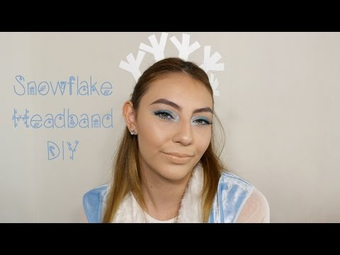 Snowflake Headband DIY | HALLOWEEN | Nicolle ZM