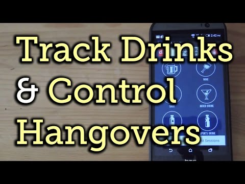 Keep Track Of Your Drinking & Prevent Hangovers Using Your Android Phone [How-To]