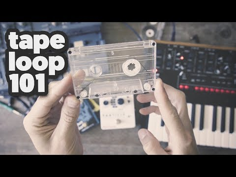 TAPE LOOP 101: How to make and use tape loops [tutorial]