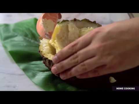 How to make pineapple ice cream, homemade rocky road ice cream, kitchenaid mixer ice cream recipe