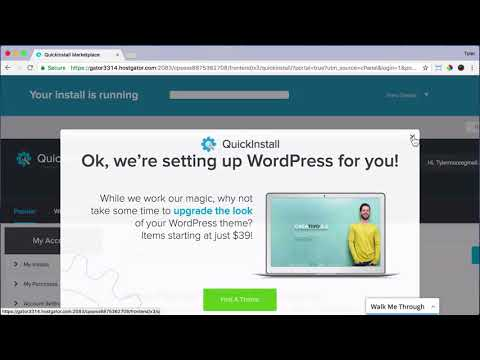 How To Install WordPress #3