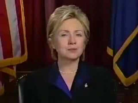 HILARY CLINTON  - MESSAGE TO SEVENTH DAY ADVENTIST - SDA