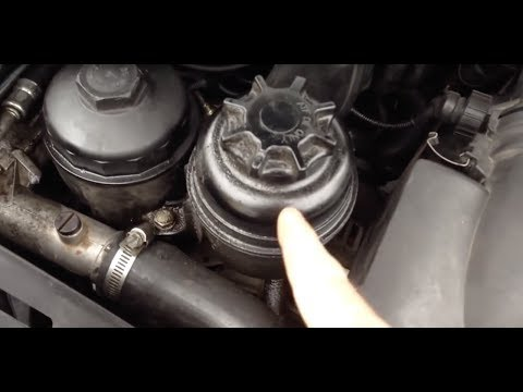 How to service BMW power steering fluid and what kind to use M3 e36 e34 e38 e39 e90 e92 M5 e60 e61