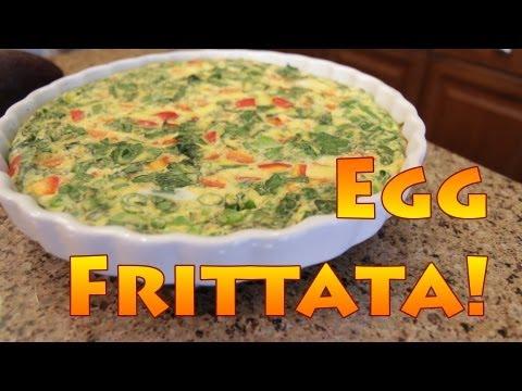 Simple, Healthy Egg Frittata Recipe