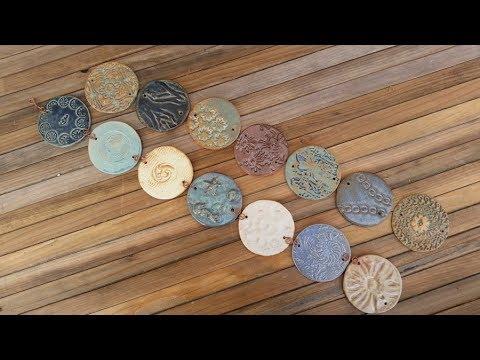 Hanging garden discs