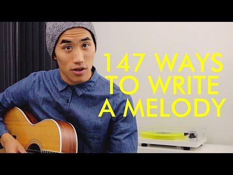 147 WAYS TO WRITE A MELODY