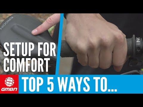 Top 5 Ways To Set Up Your Bike For Comfort   Mountain Bike Setup