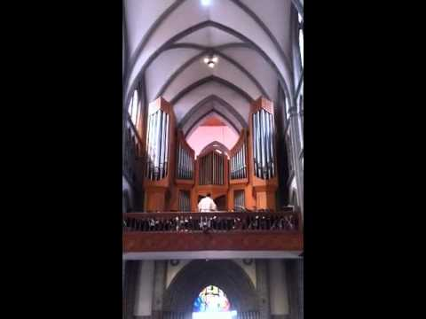 Easter at Myeongdong Cathedral
