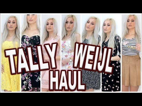 HAUL! 🛍 NEW Clothing HAUL from Tally Weijl ! || MARCH 2018