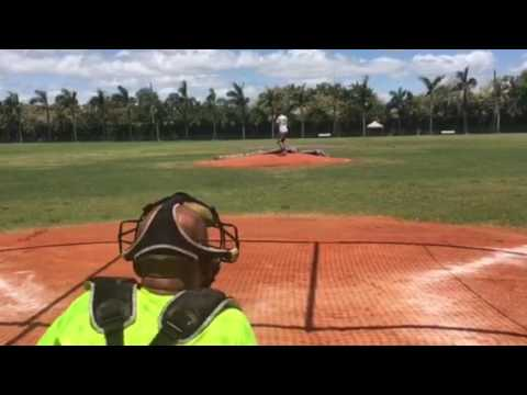 Owen Almeida RHP 2018 3.6 GPA - Behind the Plate