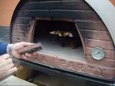 How to light a fire - simple method for wood burning pizza oven PIZZA PARTY, stoves and fireplaces