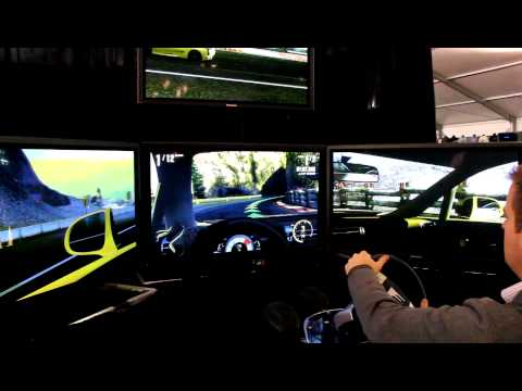 LFA Driving Simulator at Barrett Jackson 2013 Scottsdale