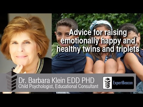 Advice for raising emotionally happy and healthy twins and triplets