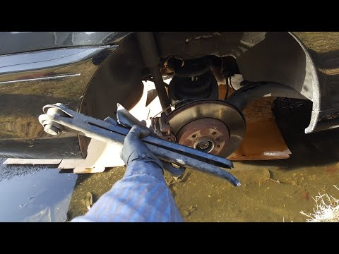 BMW e46 rear lower control arm replacement