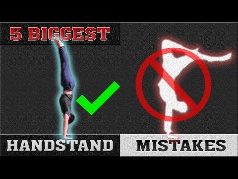 5 Biggest Handstand Mistakes | Perfect Your Handstand!