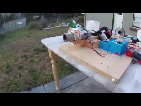 Homemade Liquid Rocket Engine - Thermo Electric Generator added