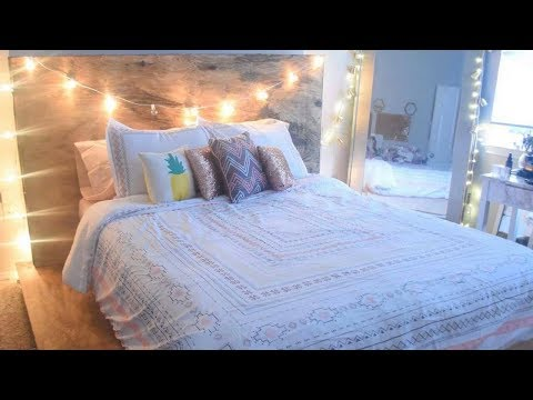 DIY PALLET PLATFORM BED   PINTEREST TUMBLR INSPIRED