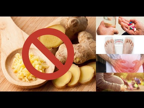 It is best to avoid ginger if you have these 5 conditions