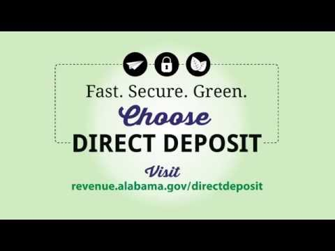 Tax Refund Direct Deposit: Commercial